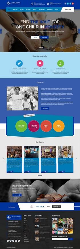 Capital Growth Foundation, ONG américaine, incubateur de startup